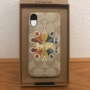 🎉HP 🎉Coach | iPhone X Case